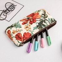 JAPANESE GARDEN pouch Collection Textile Small Pouchs Japanese Garden Pencil Case Bag Etui