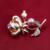 2016 moda elegante banhado a ouro rose flor broche broche de pérolas rosa para as mulheres