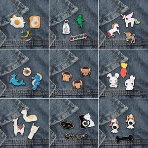 3pcs/set Cartoon Animals Brooc