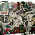 100Pcs/Lot Very Cool Styling Luggage Decal Toy The Stickers For Car Pvc Waterproof Laptop Motorcycle Skateboard Sticke