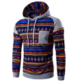 2017 Hoodies Mens Hombre Hip Hop Male Brand Hoodie National Wind Spell Mixed Color Sweatshirt Suit Men Slim Fit Men Hoody