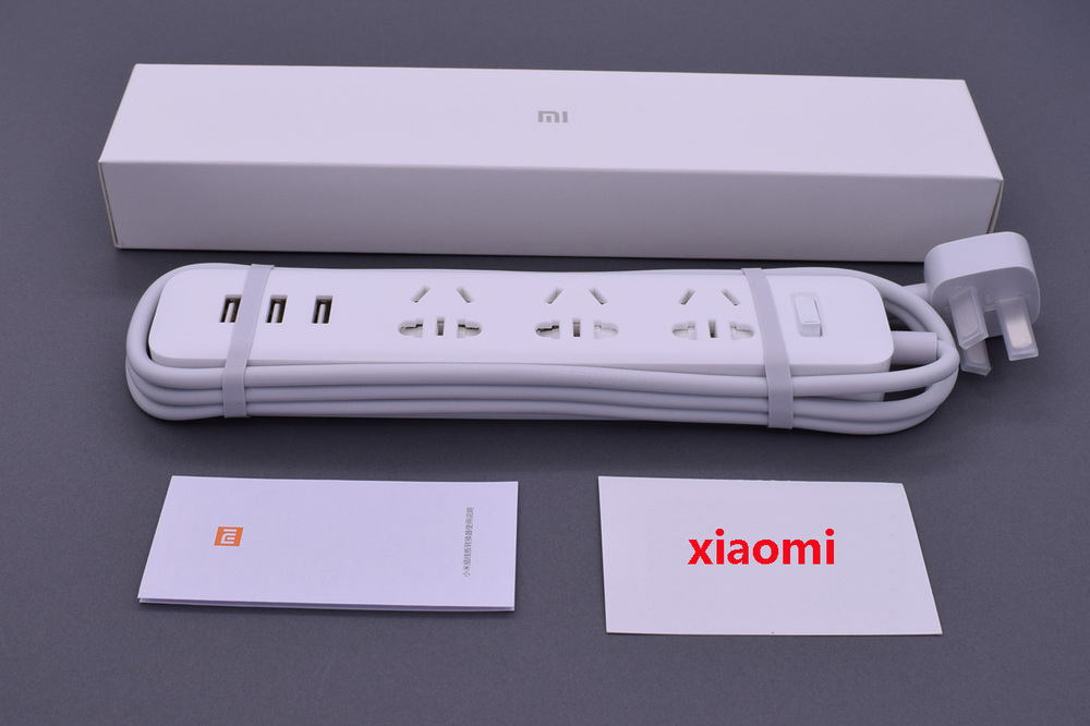 XiaoMi 3 USB Port Fast Charging 2.1A USB Smart Power Socket Power strip charger Portable Strip Plug Adapter For Phone H25 # (2)
