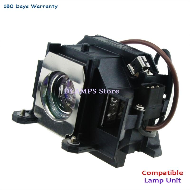 Ücretsiz Kargo V13H010L40 EPSON EMP-1810 için Projektör Lambası Modülü / EMP-1815 / EB-1810 / EB-1825 / EMP-1825 Projektör