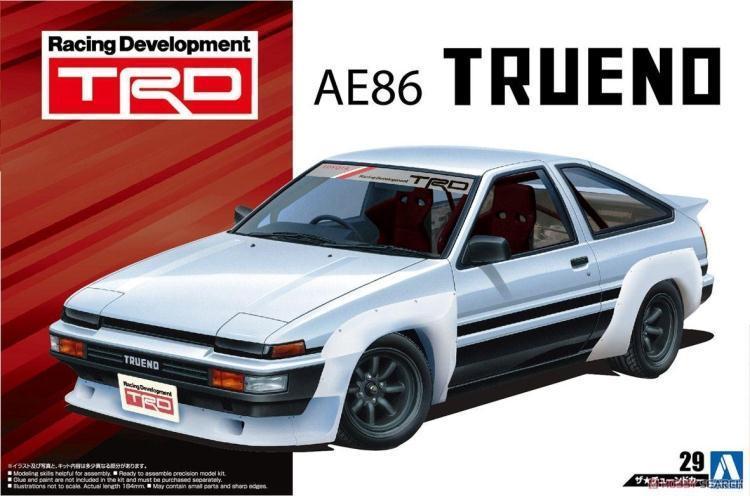 1 / 24 TRD AE86 Toreno`85 Car Model 05360