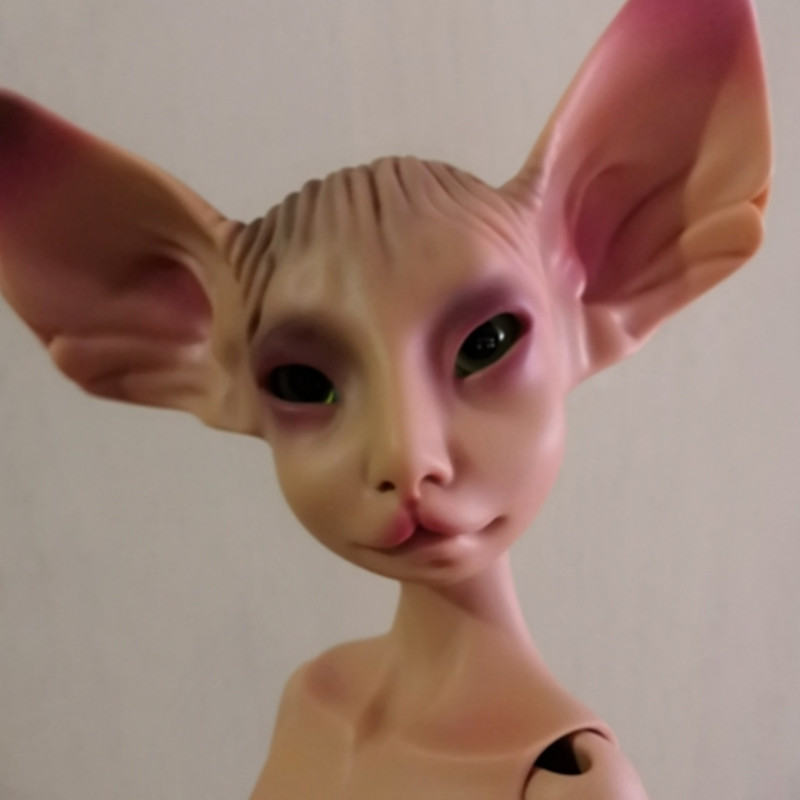 Hot  cat Noble bjd dolls girls toys, soft tar rag stuffed figuresHot  cat Noble bjd dolls girls toys, soft tar rag stuffed figures