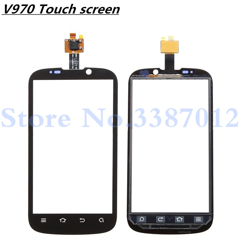 4.3'' Replacement High Quality For <font><b>ZTE</b></font> Grand X V970 V970T <font><b>V970M</b></font> Touch Screen Digitizer Sensor Outer Glass Lens Panel image