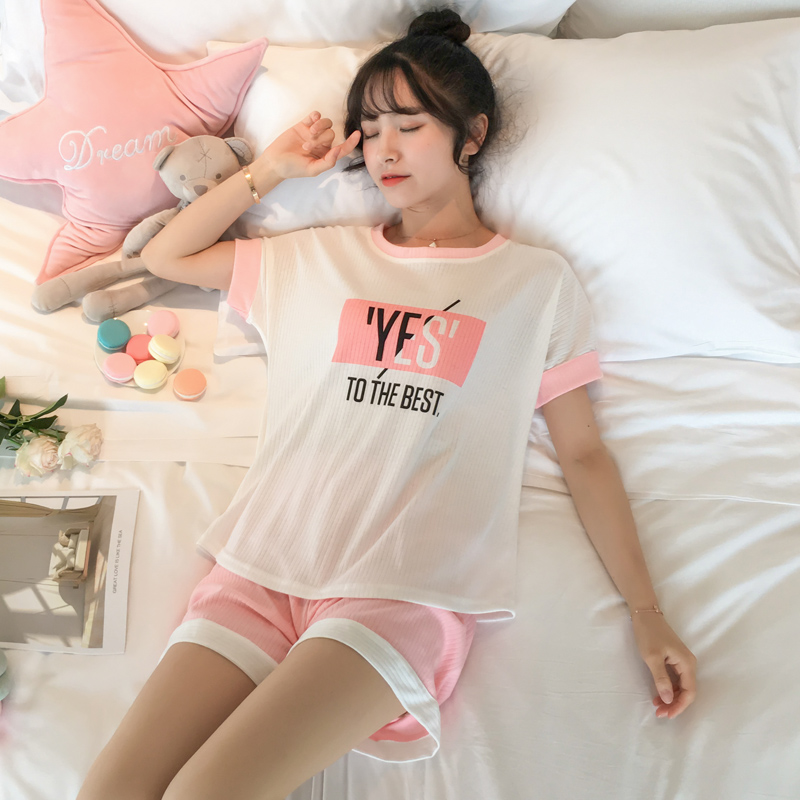 Cheap Wholesale 2019 New  Summer   Hot Selling Women's Fashion Casual Pajamas  FW125