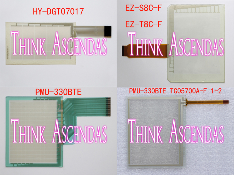 1pcs New EZ-S8C-F EZ-T8C-F /  HY-DGT07017 / PMU-330B PMU-330BTE / TG05700A PMU-330BTE TG05700A-F 1-2 Touchpad 1pcs new ez s8c f ez t8c f hy dgt07017 pmu pmu 330b pmu 330bte tg05700a pmu 330bte tg05700a f 1 2 touchpad