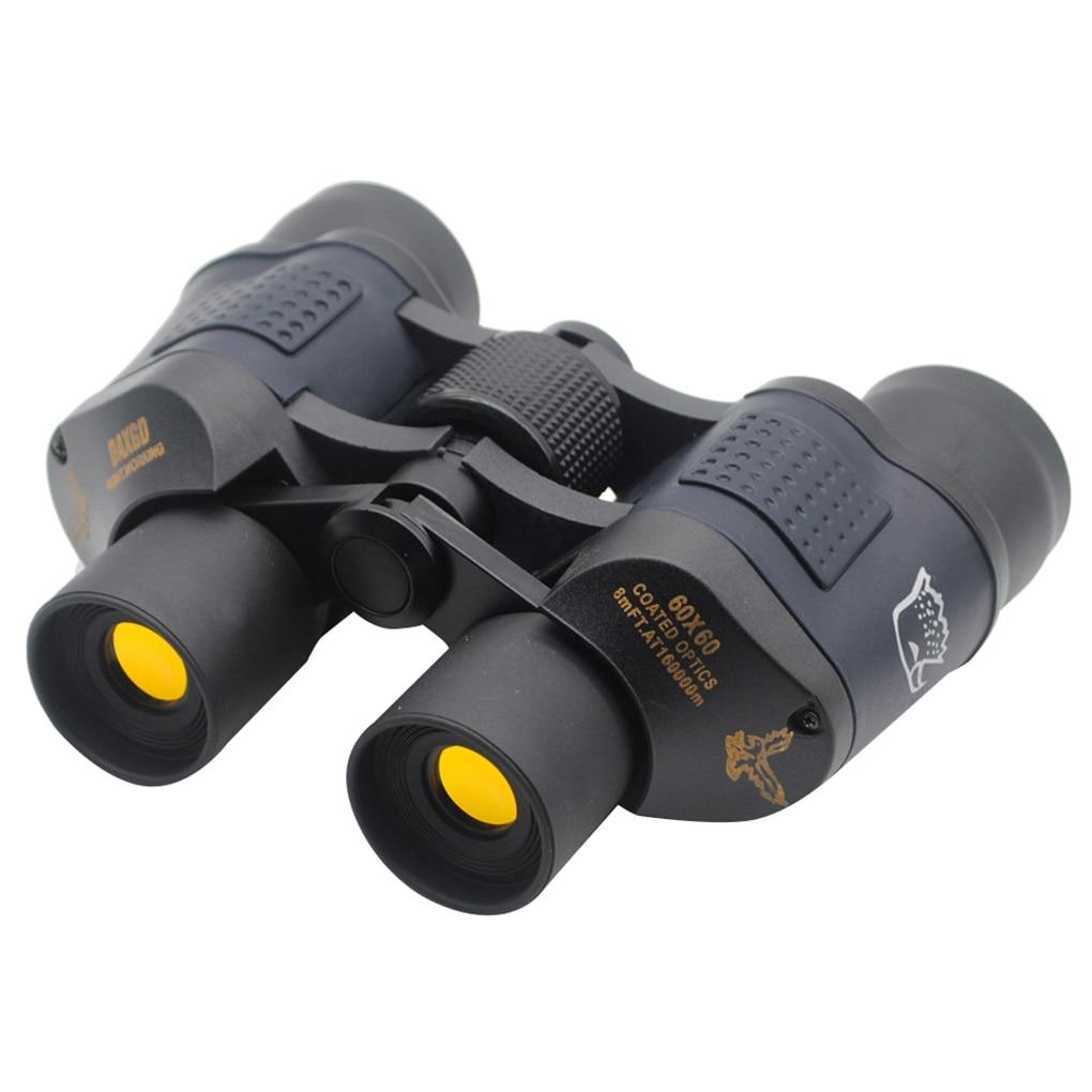 60x60 étanche haute définition Vision nocturne jumelles de chasse télescopes monoculaire télescopio jumelles