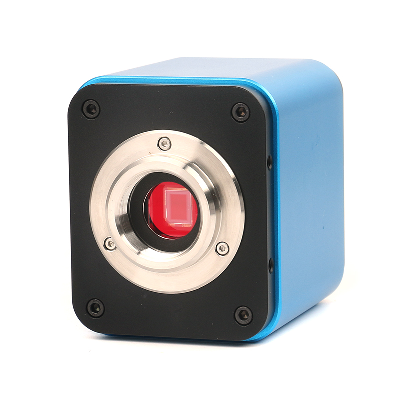 2.0MP 5.0MP HDMI WIFI C monture professionnelle caméra Microscope vidéo professionnel SONY IMX185 capteur pour iphone, ipad, Android