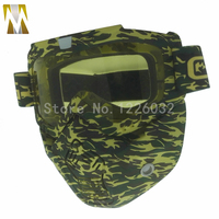 Motocross Detachable Mask Goggles For Open Face Half Helmet Mask Glasses Motorcycle Men Women Outdoor Cycling Goggles