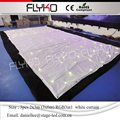 Free Shipping led dance floor led star curtain  3pcs 2x3m  white cloth