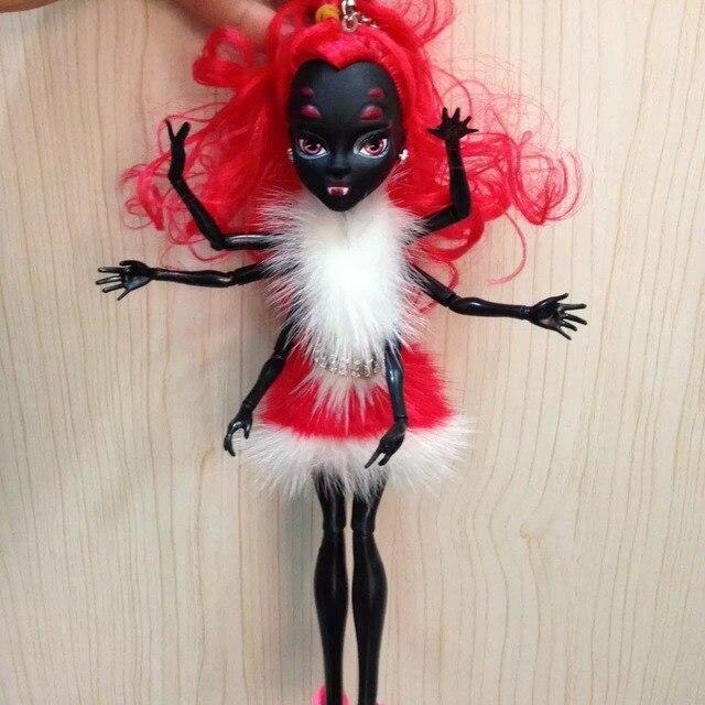 Excellent spider woman   mink hair keychains real fur Pompom   handbag charm bag bug accessories