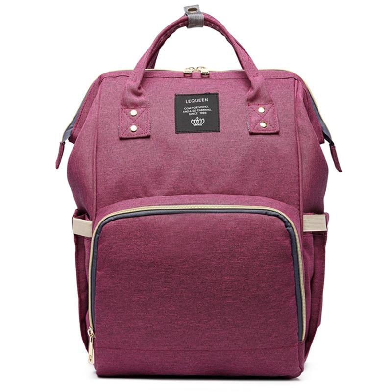 HTB1c0PGoTlYBeNjSszcq6zwhFXaf 23 Colors Fashion Mummy Maternity Nappy Bag Large Capacity Baby Diaper Bag Travel Backpack Designer Nursing Bag for Baby Care