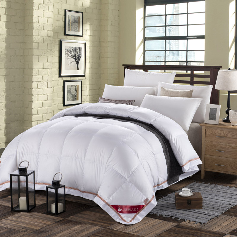 soft warm pink white twin queen king size natural 90 duck down comforter 500fp quilt