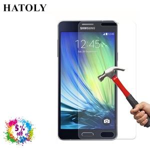 Image 3 - 2 sztuk szkło hartowane do Samsung Galaxy A3 2015 folia ochronna do Samsung A3 2015 Film do Samsung Galaxy A3 2015 szkło HATOLY