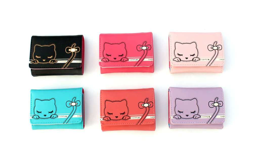 Cute Cat Girls Wallet