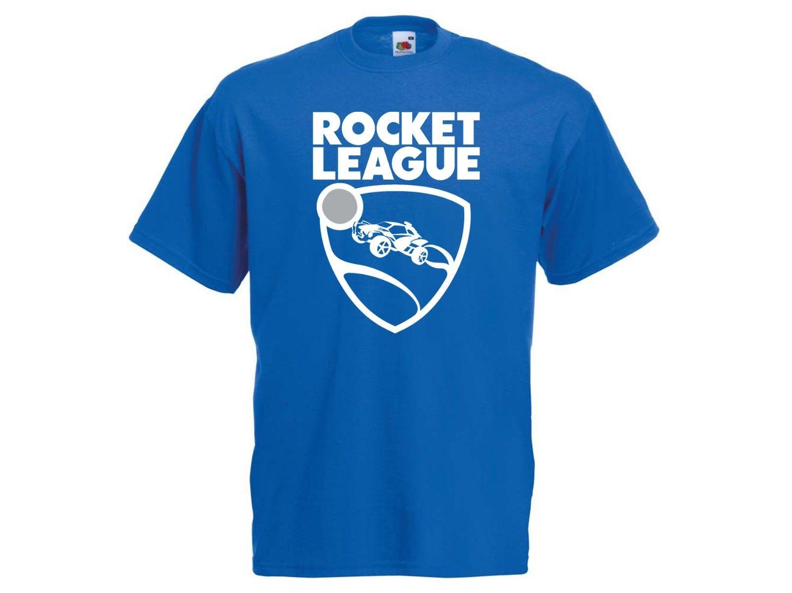 ROCKET LEAGUE T-shirt Football Soccer video game gaming driving Tshirt ALL SIZE