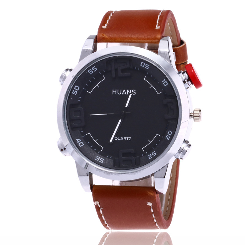 2018 New products Mens Watches Top Brand Luxury Leather Men Watch Army Military Quartz Casual Sport Male Clock Relogio Masculino break top brand luxury watch men casual sport clock military army relogio masculino mens male casual quartz watches business