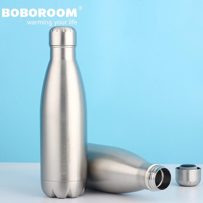 500ML Sports Stainless Steel Thermos Mug Water Bottle 2017 New Design Thermomug Leak proof Vacuum Flasks