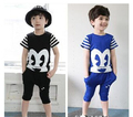 New Boy Girls Children Clothing Set T Shirt+Short Boy T Shirt+Panties Magician Clothing Set Fit 2-7Yrs Kids Casual Baby Clothes