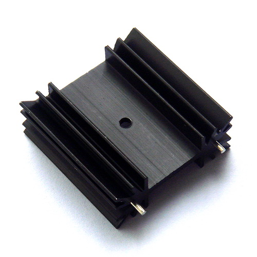 ( 4 Pcs/lot ) TO-220 Heatsink, Small Power Aluminum Heat-Sink.
