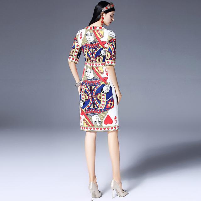 Beading Diamonds Sequined Poker dress