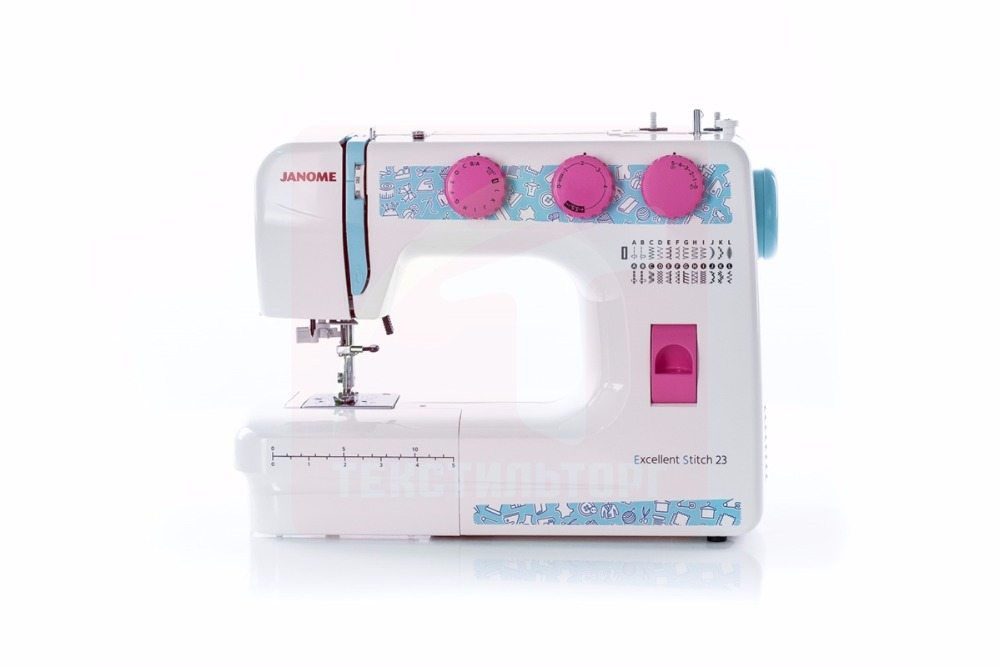 Sewing Machine Janome Excellent Stitch 23 (ES 23) 32pcs multifunctional sewing machine presser foot feet kit for stitch