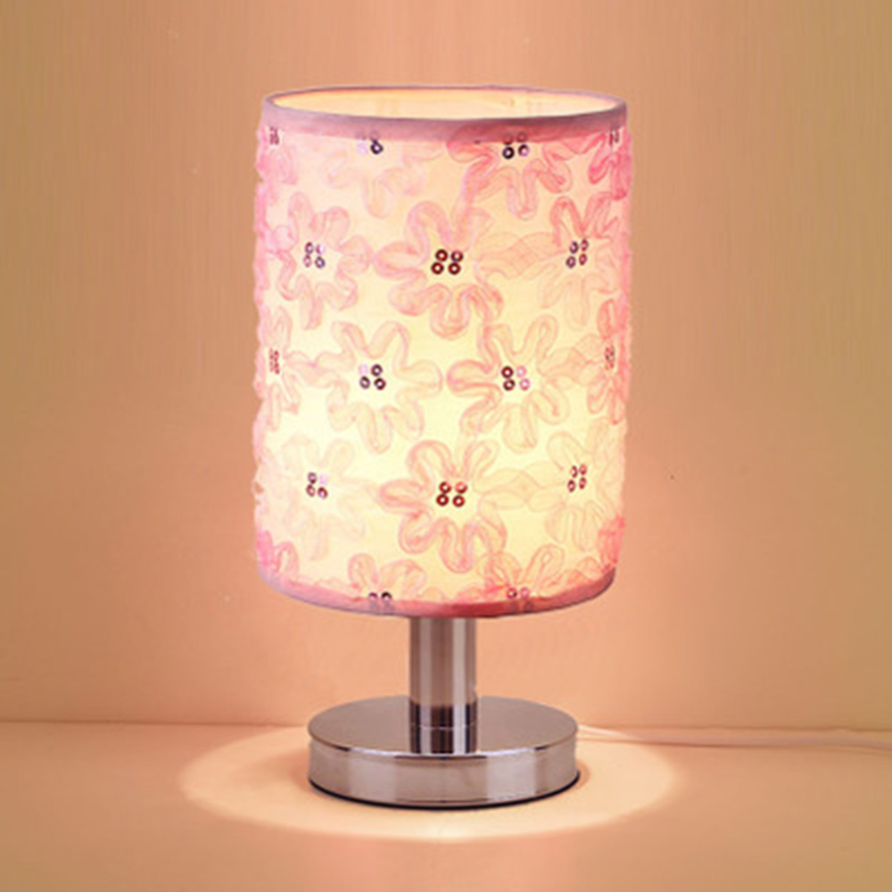 Зеленая настольная лампа Спальня Освещение исследование Рединг ночники 110-220 В милый розовый Деревянный Стол Огни Luminarias светодиодный