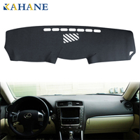KAHANE Leather Car Dashboard Cover Non Slip Dash Mat Pad Left Hand Driver For Lexus IS250 IS350 2006 2011