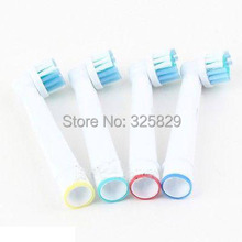 1pack no track number soft bristles EB17-4 SB-17A electric toothbrush heads, Replacement brush head,oral hygiene toothbrush