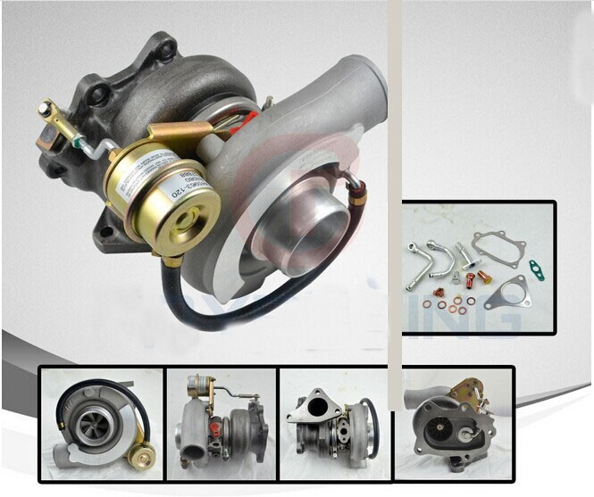 TURBO TURBOCHARGER TD05-20G For SUBARU WRX STI EJ20 EJ25 MAX HP: 450HP with gaskets turbo for subaru impreza wrx sti sedan wagon 2003 ej20 2 0l 280hp rhf55 vf37 vg440027 14411 aa541 14411 aa542 turbocharger