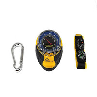 Best Deal 4 In 1 Functions Digital Mini Compasses Altimeter Thermometer Barometer Equipment With Carabiner