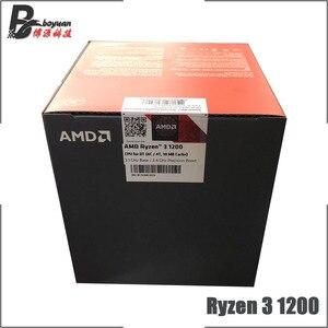 Image 4 - AMD Ryzen 3 1200 R3 1200 3.1 GHz Quad Core Quad Thread di CPU Processore L2 = 2M l3 = 8M 65W YD1200BBM4KAE Presa AM4 Nuovo e con il ventilatore