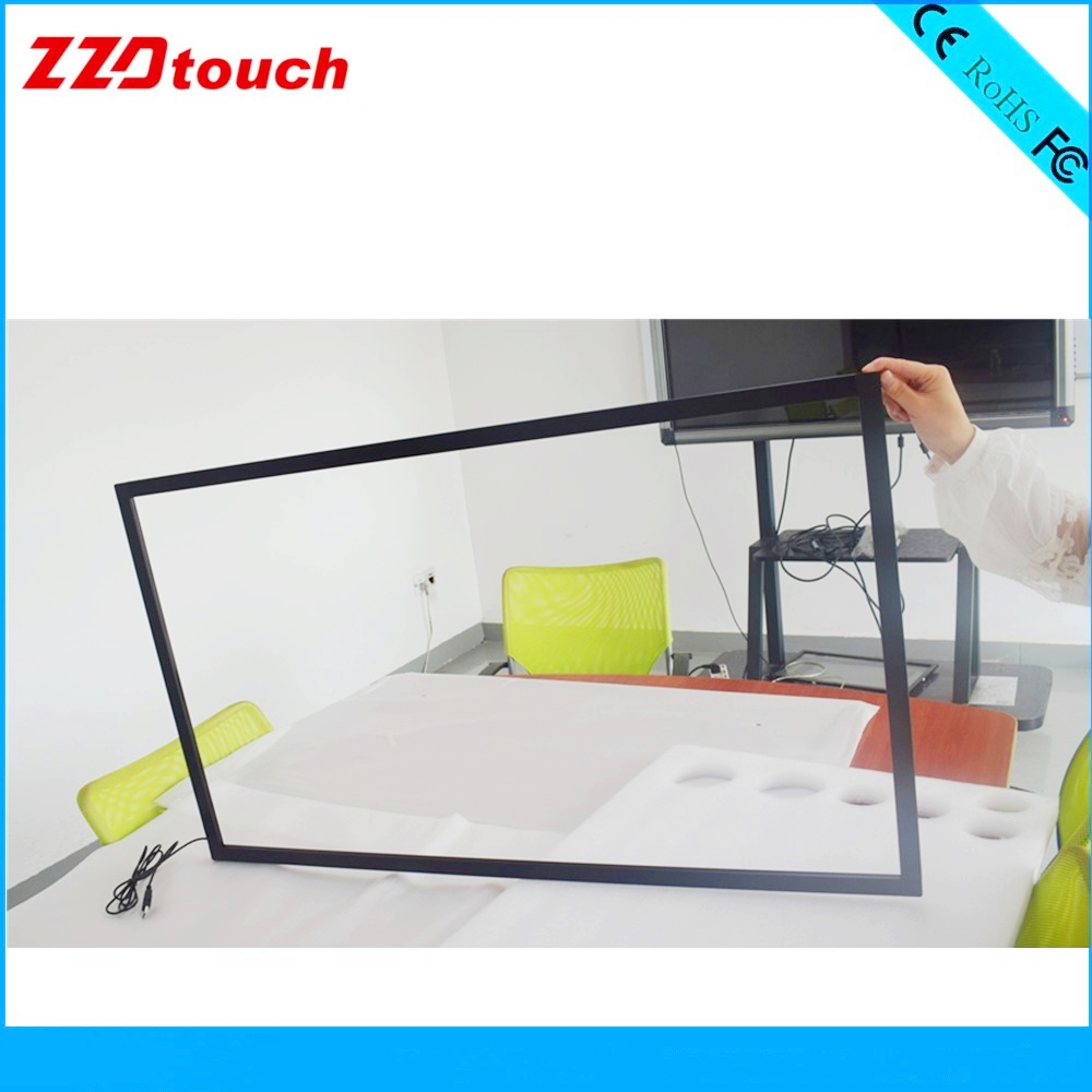 Image 3 - ZZDtouch 55 inch IR touch frame 10 points usb infrared touch screen panel multi touchscreen overlay for touch screen monitor pc-in Touch Screen Panels from Computer & Office