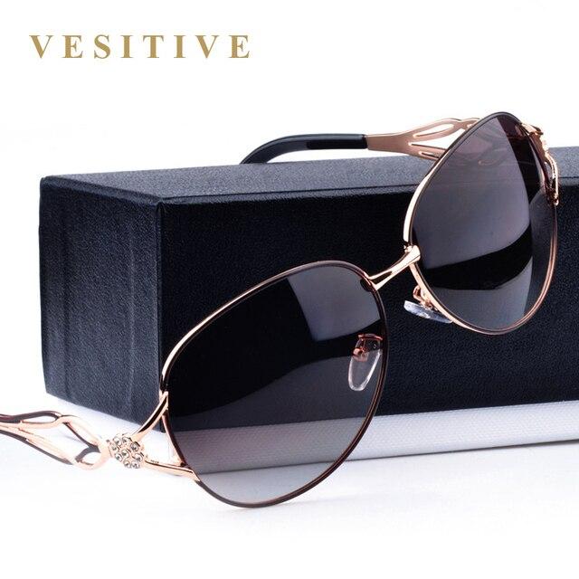 2017 moda óculos polarizados óculos de sol das mulheres de diamante de luxo  de design da 2b5803b932