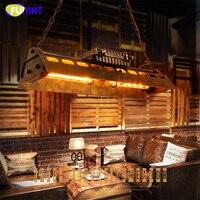 Фумат Amercian Лофт Винтаж подвесные светильники edison Промышленное Освещение для дома висит ретро гладить капля света