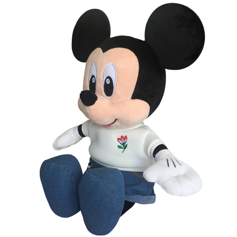eeaef9f365c6 Mickey mouse is 49 30 17cm and Minnie mouse is 45 27 15 from foot to  ears