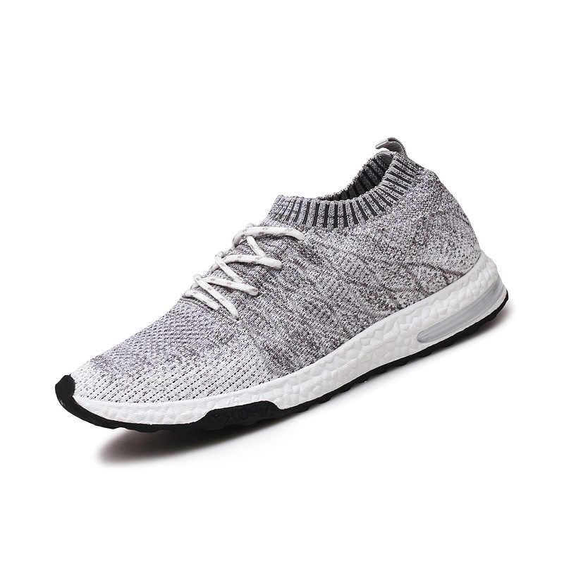 ตาข่ายใหม่ Breathable รองเท้าผ้าใบสบายๆรองเท้าชายชายรองเท้าแฟชั่นผู้ชายรองเท้ารองเท้า zapatos de hombre