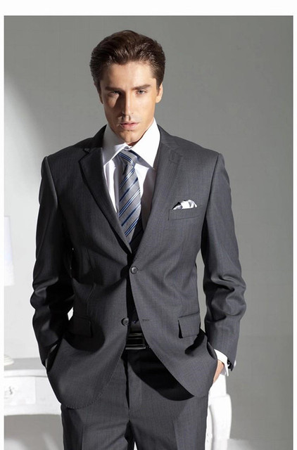 Grey Wedding Suits For Groom | Midway Media