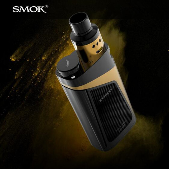 Skyhook rdta mod smok kit 220 w con 9 ml de gran capacidad más nuevos ecigs starter kit