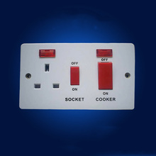 New Wall Socket Switch socket  45A power wall UK