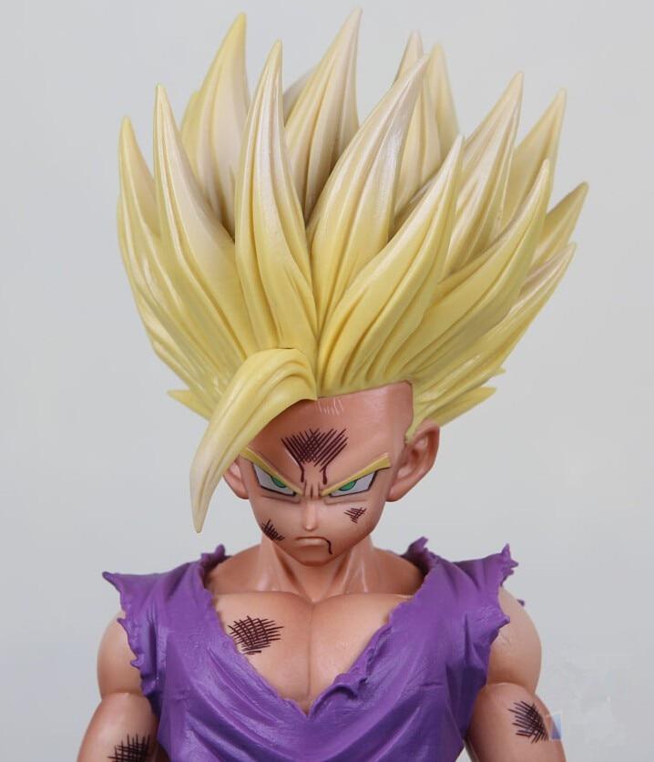 Dragon Ball Z Son Gohan Figure Super Saiyan Son Gohan Toy 20CM Dragon Ball Special Color Ver. Toy Doll Figuras DBZ 3D model