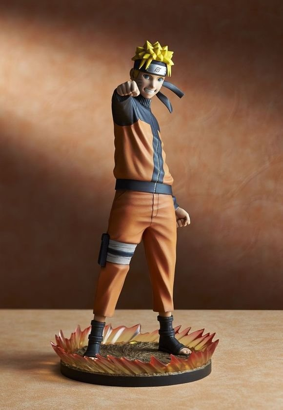 ФОТО New Anime Naruto Shippuden Naruto Uzumaki PVC Action Figure Resin Collection Model Doll Toy Gifts Doll Cosplay
