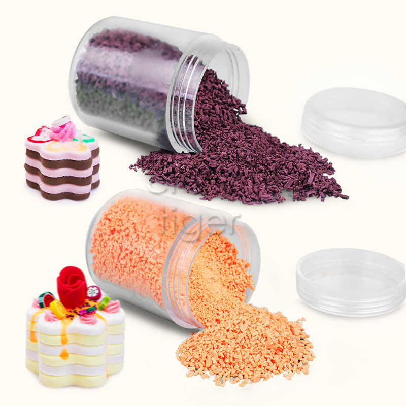 15g Fake Sprinkles Chocolate decoration for slime Filler diy slime Supplies Candy Cake Decoration for slime/clay/mud Accessories