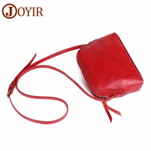 JOYIR Brand Genuine Leather Women Messenger Bag Fashion Shoulder Crossbody Shell Handbags Female Bolsas Feminina 2018