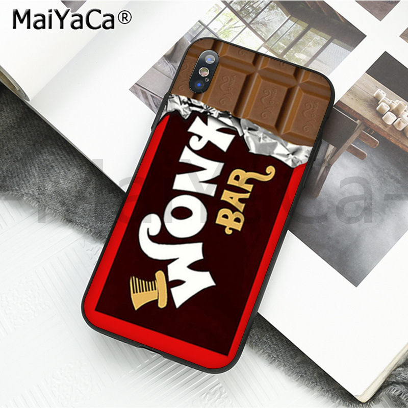 chocolate Willy Wonka Bar With Golden