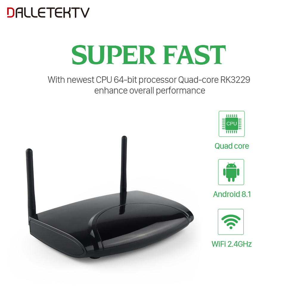 Android 8 1 Europe France Arabic IPTV Box R2 With 1 Year QHDTV Strong Wifi  Belgium France Dutch Africa Arabic IPTV Set Top Box (Hot Sale 11 11 /