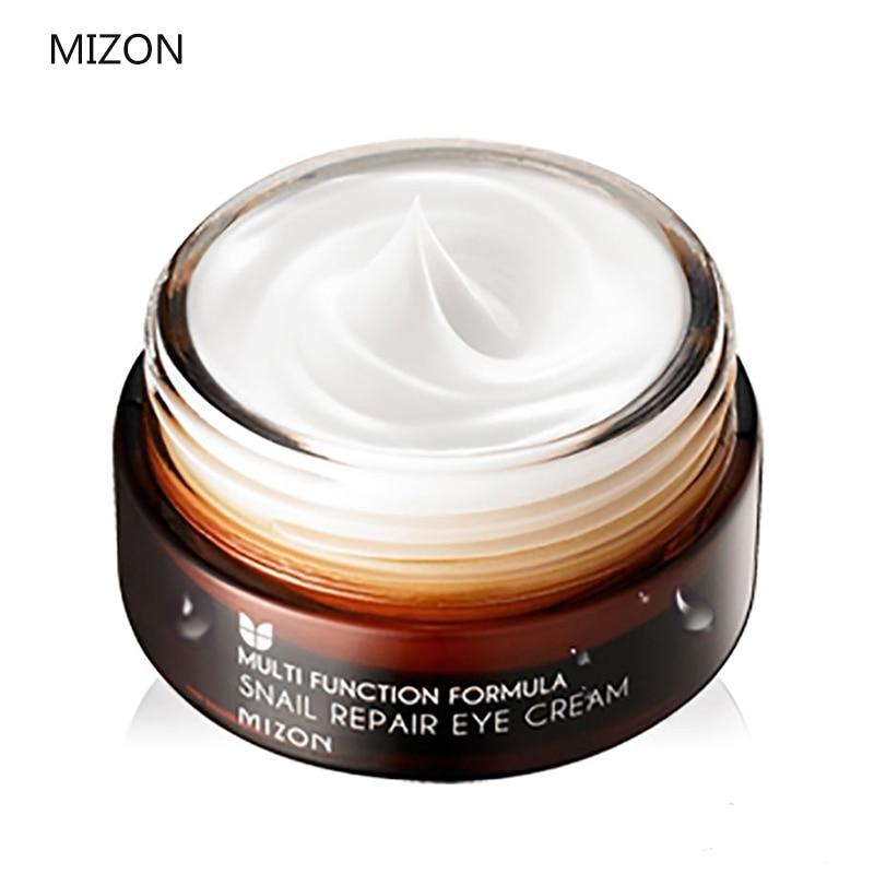 все цены на MIZON Snail Repair Eye Cream 25ml Snail Essence serum Eye Cream Anti Wrinkle Moisturizing Best Korea Cosmetics онлайн