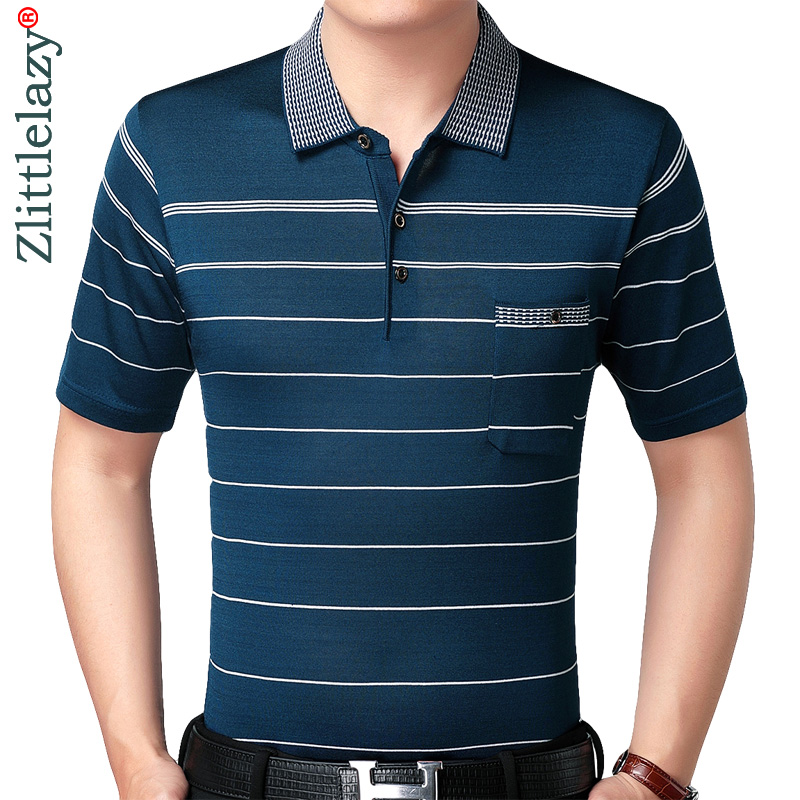 2019 real pocket bodybuilding short sleeve   polo   shirt men striped   polos   summer pol tee shirts mens dress poloshirt jersey 2861